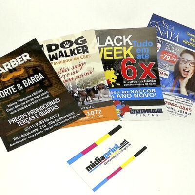 Comunicação Impressa | Folhetos e Flyers Promociais